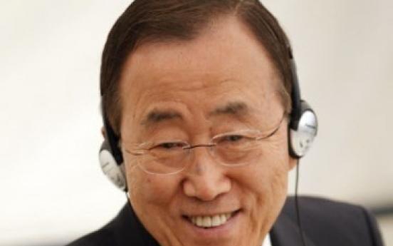 U.N. council backs Ban for 2nd term