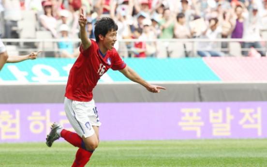 Korea defeats Jordan 3-1 in Asian qualifier