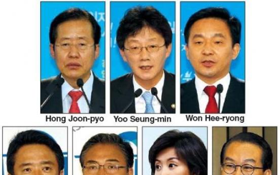 Reformists dominate GNP race