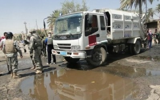 22 killed in suicide car bombings south of Baghdad