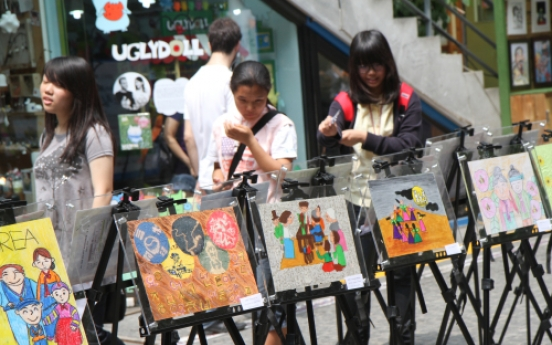 Autistic kids are artists for drawing contest
