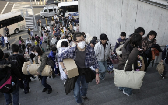 Magnitude-6.7 quake hits Japan