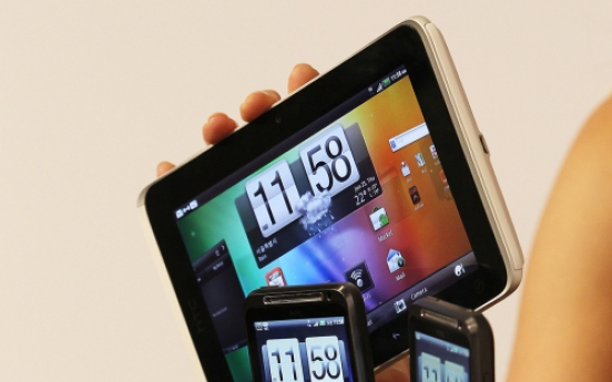 HTC unveils first 4G phone, tablet
