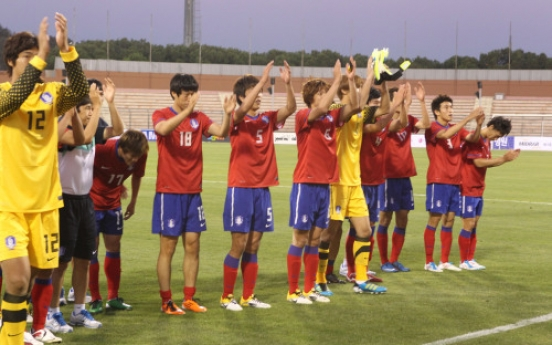 S. Korea advances in Olympic football qualification