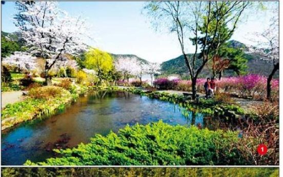 Sanbangsan Biwon: 'secret garden' in Geoje Island