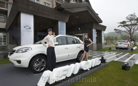 Renault Samsung launches New QM5 crossover car