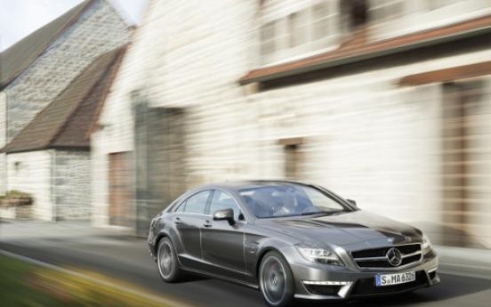 Mercedes-Benz introduces new CLS 63 AMG