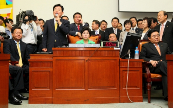 DP blocks Assembly panel over TV fee bill
