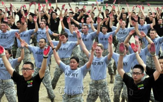 Korea, U.S. ROTC cadets cement alliance