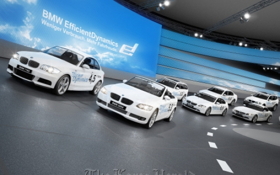 BMW widens sales of luxury cars in U.S.