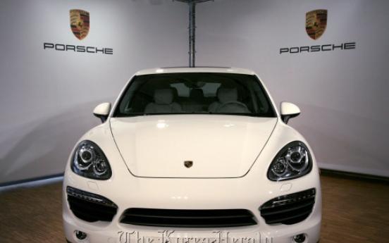 Porsche Cayenne surging in China