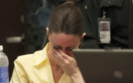 Casey Anthony weeps as prosecutor calls her a liar