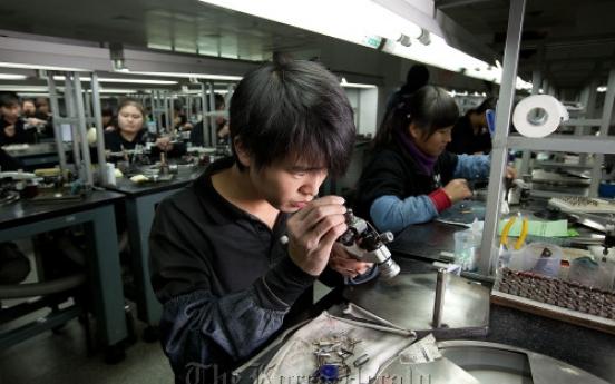 Diamond sales booming in China