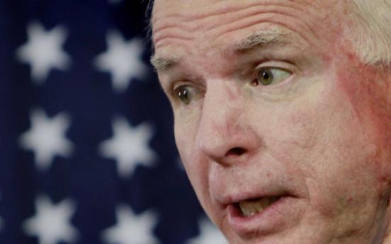 McCain: Afghan drawdown an unnecessary risk