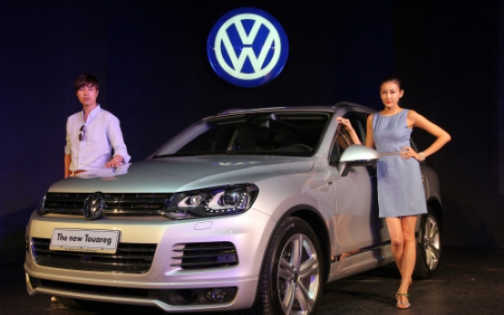 Volkswagen launches new Touareg crossover SUV in S. Korea