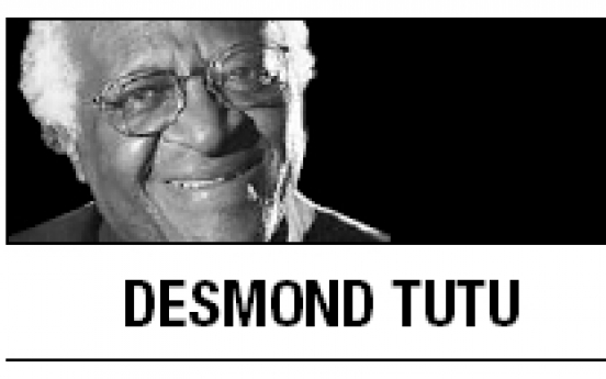 [Desmond Tutu] Ending the evil of nuclear weapons