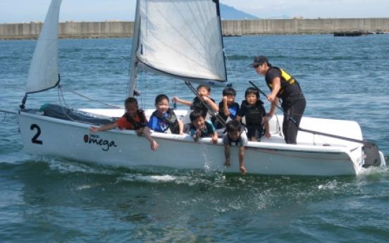 Yachting, sea kayaking: Highlight of Namhae travel
