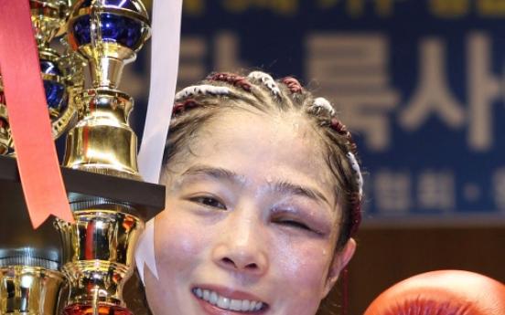 Kim bags 5th world boxing crown