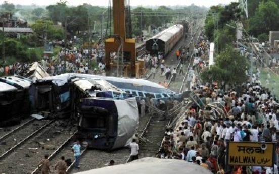 63 dead, 200 hurt as trains derail in India