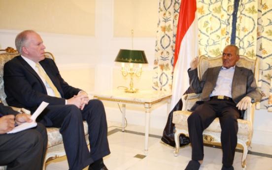 U.S. urges Yemen's president to step aside