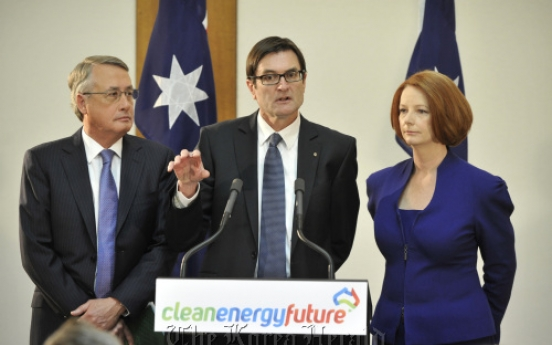 Aussie firms whinge about carbon tax