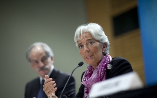 IMF chief calls on U.S. to raise borrowing limit
