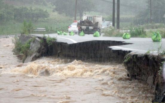 Heavy rain kills 15, leaves three missing