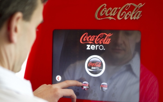 Soda drinkers' creativity gets free rein with high-tech machine