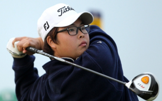 Korean young guns impress at British Open