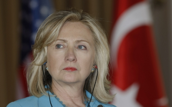 Clinton chides NATO ally Turkey on rights curbs