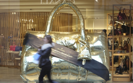 Mulberry is world's top fashion retailer