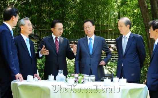 Lee champions national unity, PyeongChang's development