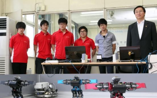 Korean robotics industry bursting into bloom