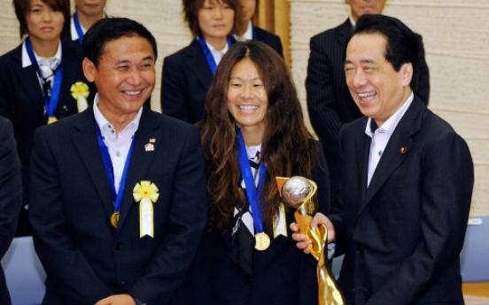 Joy finally blossoms for Japanese