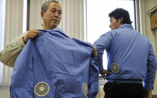 'Air-conditioned clothes' help Japan beat heat