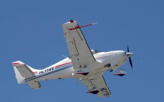 South Korea unveils new light airplane