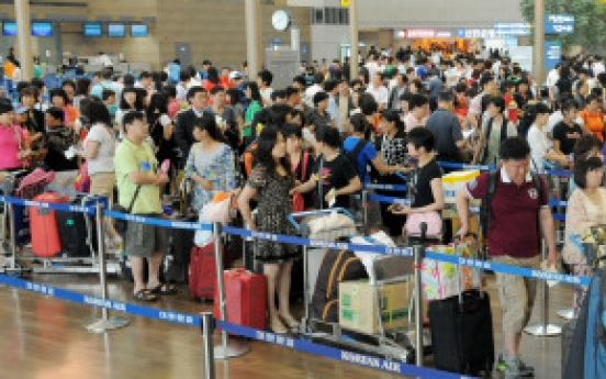 Incheon airport to see record traffic