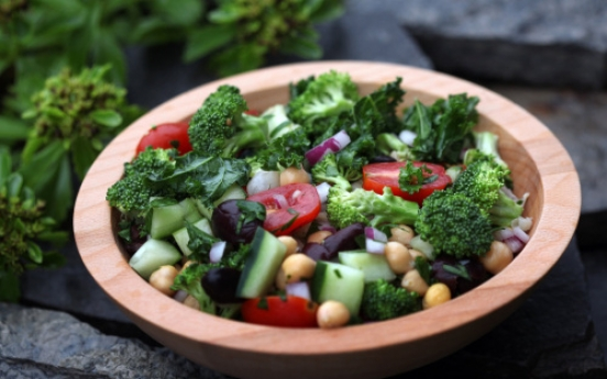 Produce, not pasta, key to summer salads