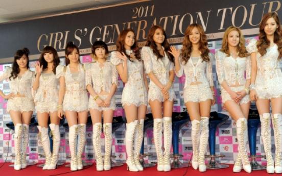 Girl's Generation happy with broadening fan base