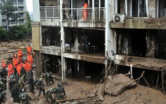 Neighbors devastated by landslides