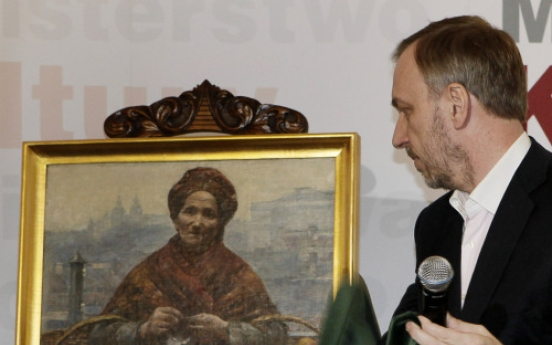 Poland gets back painting missing during WWII