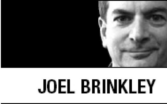[Joel Brinkley] Palestinians sit out Arab Spring