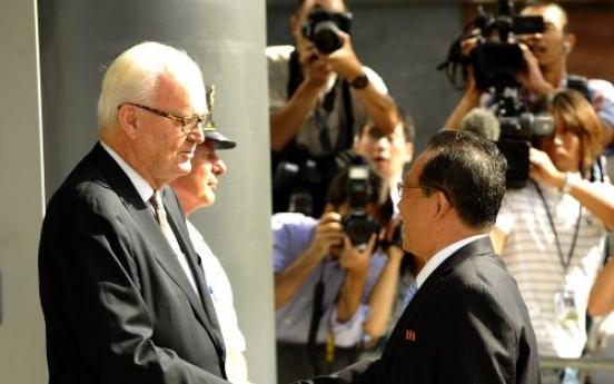 N.K., U.S. in high-level talks on denuclearization