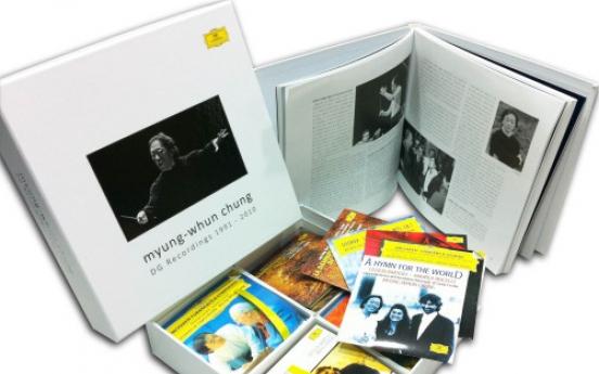 Maestro Chung's DG albums released