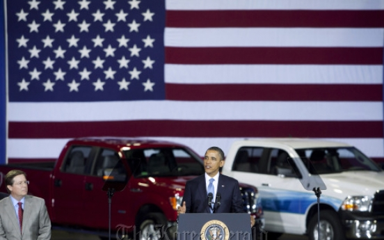 GM, Ford, Toyota accept Obama's efficiency standard