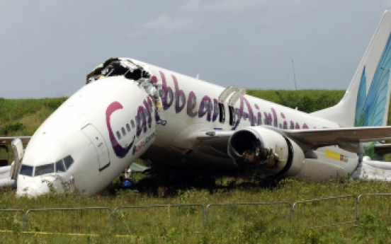 Cheers to screams as jet from NY crashes in Guyana