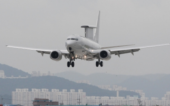 Korea gets first early warning aircraft