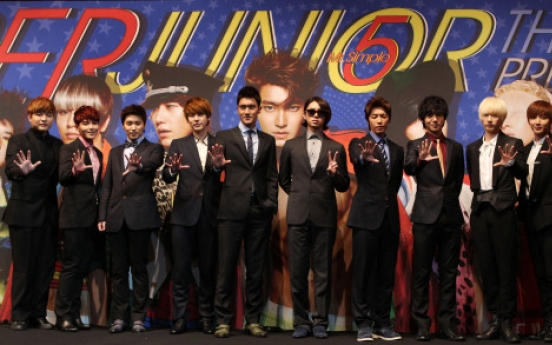 [Photo] Super Junior promises to meet more international fans with 'Mr.Simple'