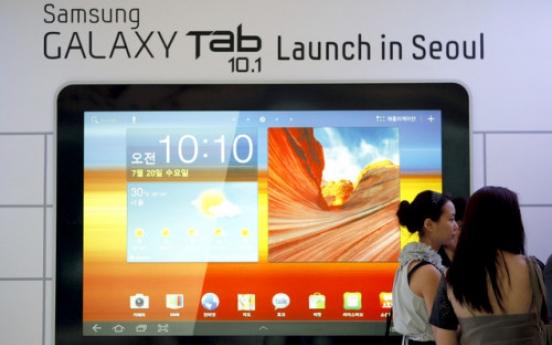 Apple wins order against Samsung tablet in EU