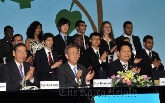 Secretary-General Ban kicks off model U.N. conference